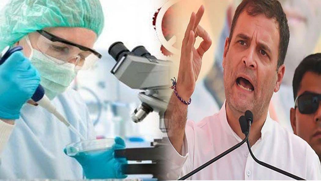 कोविड-19 को राहुल ने बताया चुनौती के साथ अवसर, कहा-कोरोना संकट के सामधान में विशेषज्ञों की सेवा ले सरकार