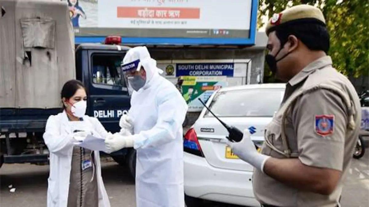 दिल्ली में कोरोना का कहर: एक दिन में सबसे ज्यादा मौतों का रिकॉर्ड, संक्रमितों की संख्या 7600 पार