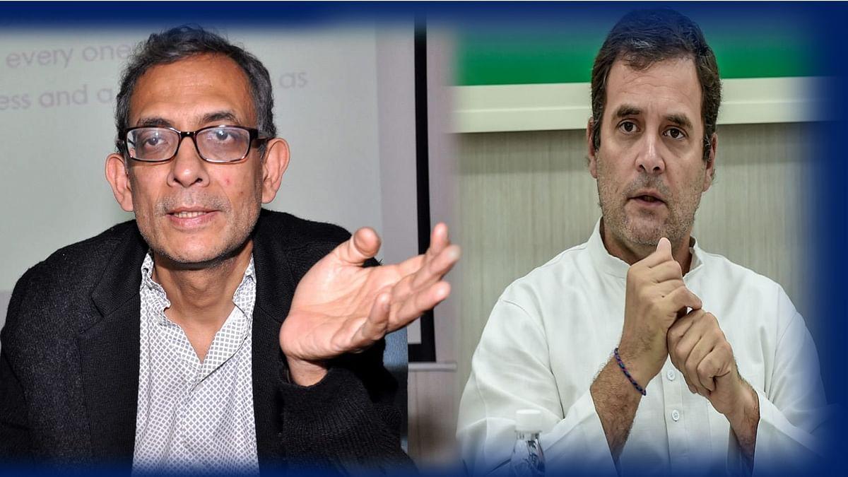 राहुल गांधी-अभिजीत बनर्जी संवाद: मांग बढ़ाने के लिए लोगों के हाथ में दिया जाए पैसा तभी पटरी पर आएगी अर्थव्यवस्था