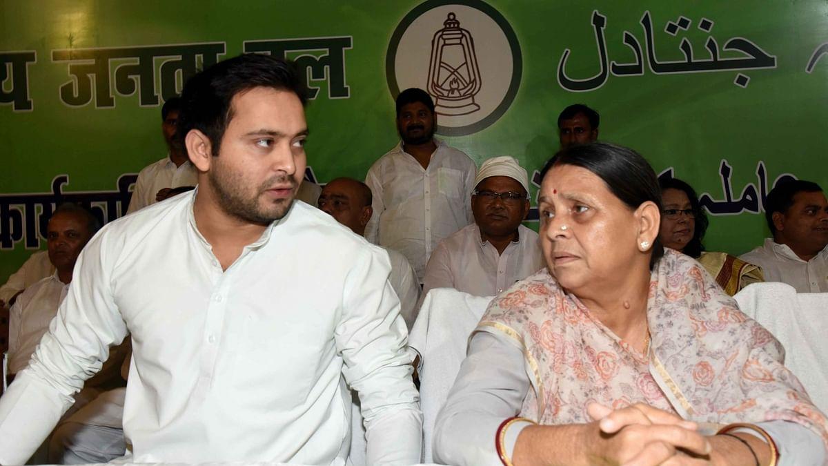 पूर्व मुख्यमंत्री राबड़ी देवी और तेजस्वी समेत RJD के 92 नेताओं पर केस दर्ज, लॉकडाउन तोड़ने का आरोप