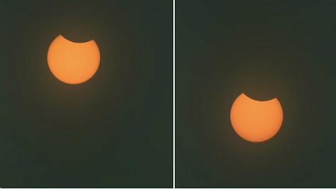 साल का सबसे बड़ा सूर्य ग्रहण लगा, दिल्ली, मुंबई, अहमाबाद और जम्मू समेत कई जगहों से आईं तस्वीरें, देखें