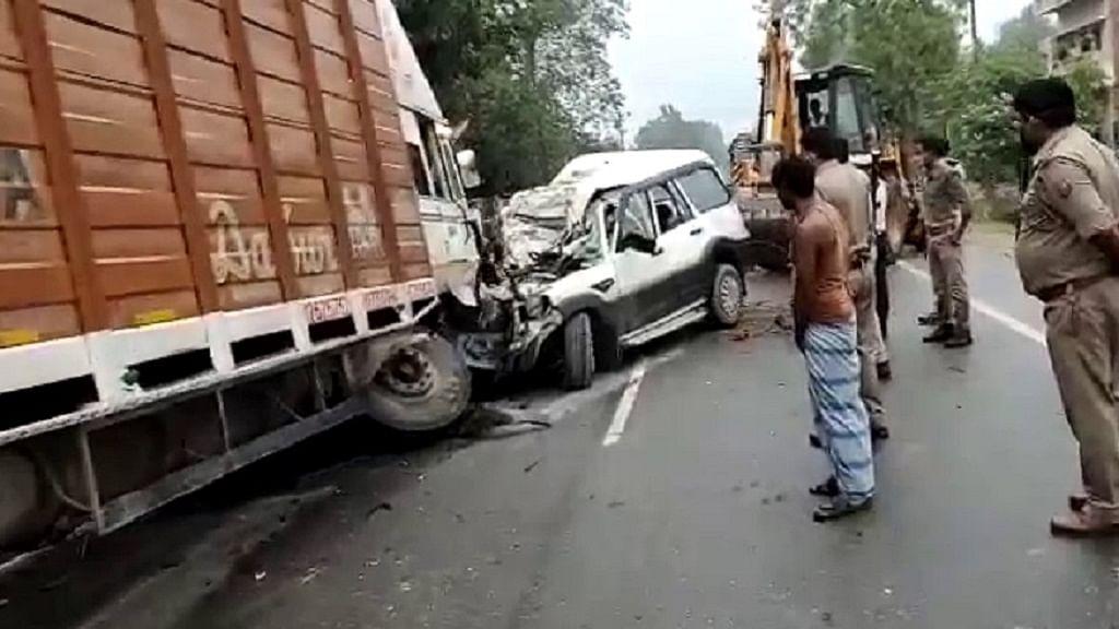 उत्तर प्रदेश: प्रतापगढ़ में ट्रक और स्कॉर्पियो की टक्कर में 9 लोगों की दर्दनाक मौत, बिहार के रहने वाले थे सभी