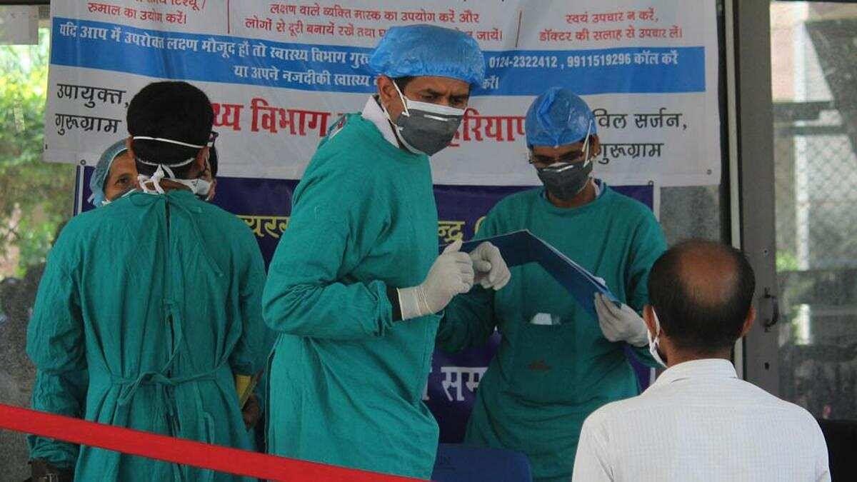 हरियाणा में कोरोना की तेज रफ्तार, आंकड़ा 6000 के पार,  अस्पतालों में आक्सीजन सिलेंडर 5 गुना करने का फरमान