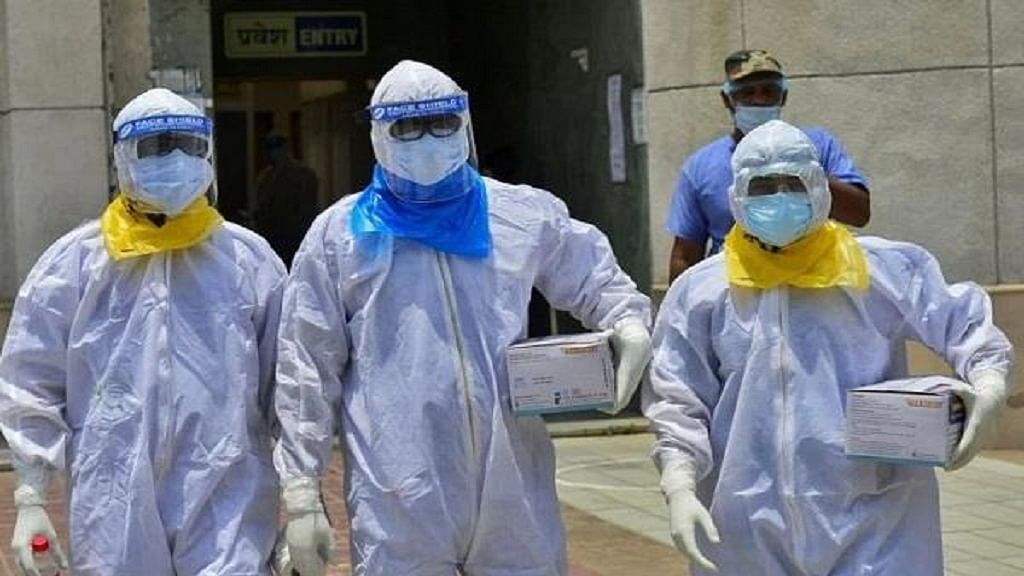 कोरोना अपडेट: देश में 24 घंटे में 18522 नए केस, 418 लोगों की मौत, कुल संक्रमित साढ़े पांच लाख के पार