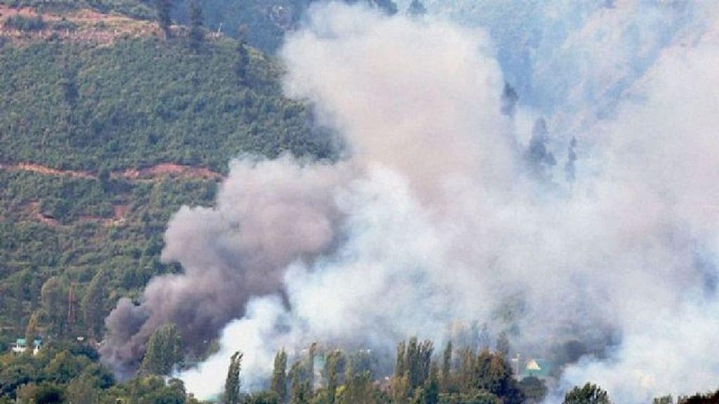 जम्मू-कश्मीर: सीमा पर पाक की नापाक हरकत जारी, पुछं में LoC पर पाकिस्तानी आर्मी ने फिर की गोलीबारी