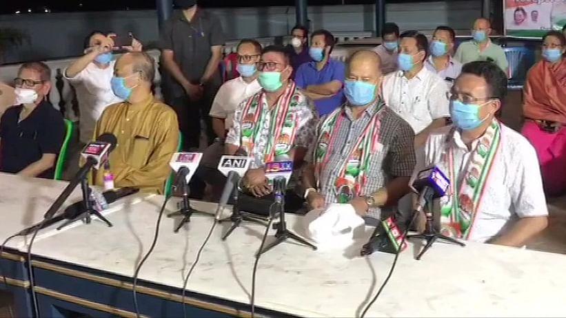 संकट में मणिपुर की बीजेपी सरकार, पार्टी के 3 विधायकों का इस्तीफा, सहयोगी ने भी लिया समर्थन वापस