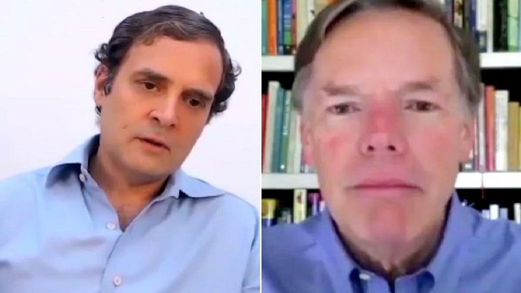 वीडियो: पूर्व अमेरिकी राजनयिक निकोलस बर्न्स से राहुल की बात, कोरोना संकट, अश्वेत नागरिक समेत कई मसलों पर चर्चा