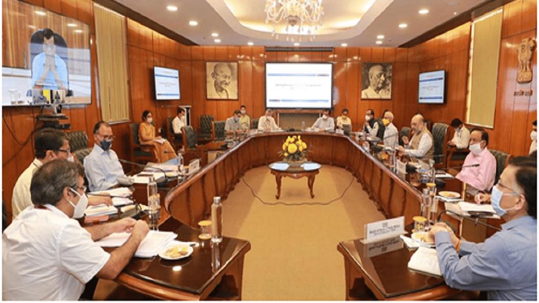 कोरोना के बढ़ते प्रकोप के बीच दिल्ली CM-LG के साथ शाह की तीसरी बैठक, कॉन्टेक्ट ट्रेसिंग बढ़ाने पर दिया जोर