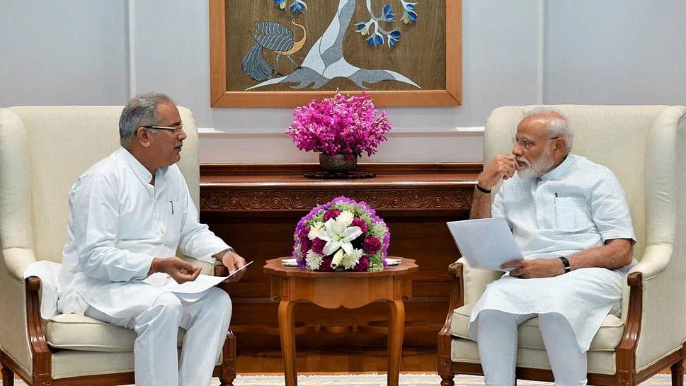 सीएम भूपेश बघेल ने PM को लिखा पत्र, बोले- 'गरीब कल्याण रोजगार अभियान' में छत्तीसगढ़ को भी तत्काल करें शामिल