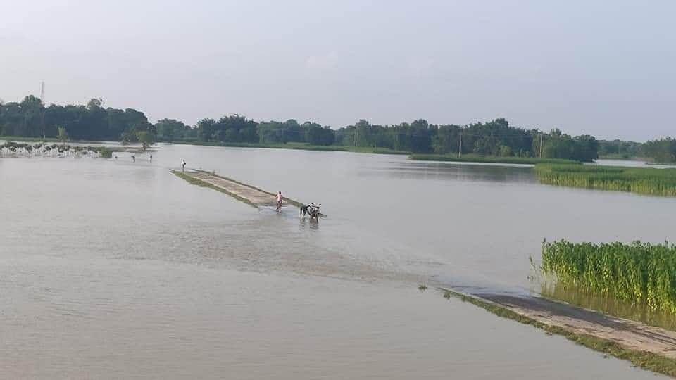 बिहार में बाढ़ से त्राहिमाम: 11 जिलों की 25 लाख आबादी पर आफत, अब तक 8 मौतें