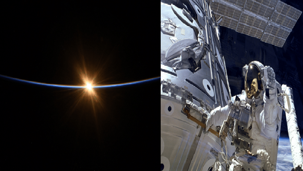 वीडियो: अंतरिक्ष से ऐसे दिखता है सूर्योदय, NASA के एस्ट्रोनॉट ने शेयर की गजब की तस्वीरें