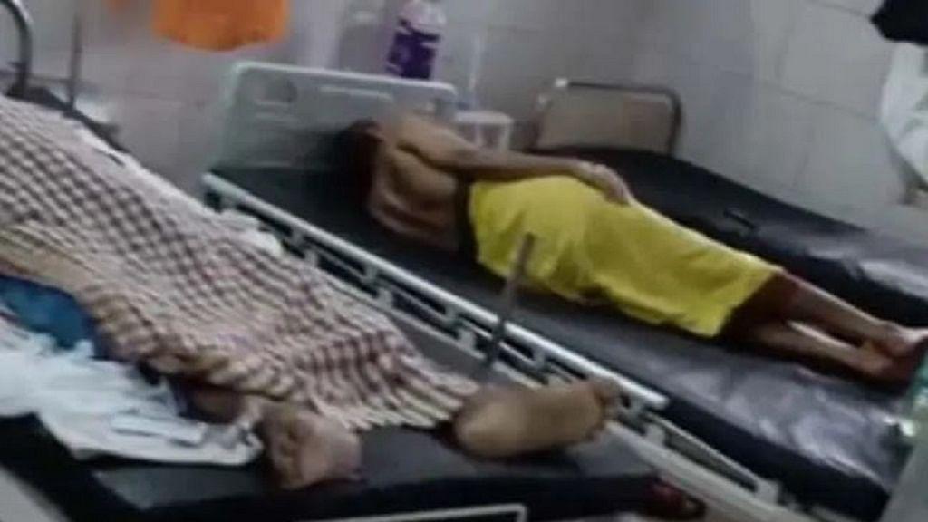 बिहार के सबसे बड़े कोरोना अस्पताल से भयावह तस्वीर, 'शव' के बीच रहने को लोग मजबूर! वीडियो वायरल