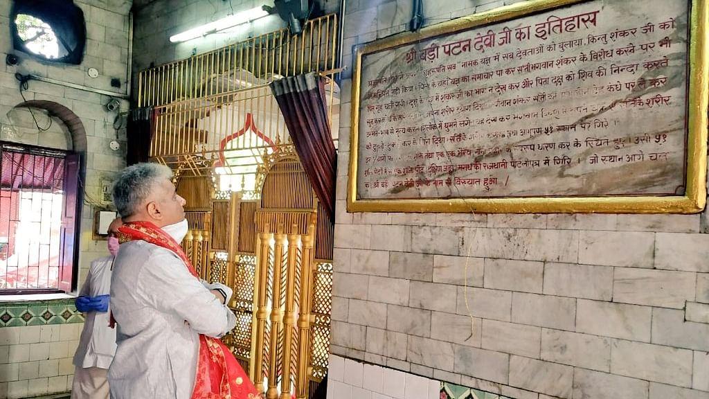 बिहार चुनाव से पहले बीजेपी को आई मंदिरों की याद, दर्शन के बहाने मंदिर राजनीति में जुटे नेता