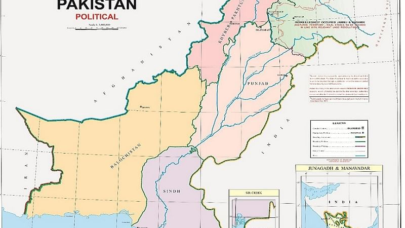पाकिस्तान ने नए मानचित्र में जम्मू-कश्मीर को बताया अपना, भारत ने बौखलाहट करार दिया