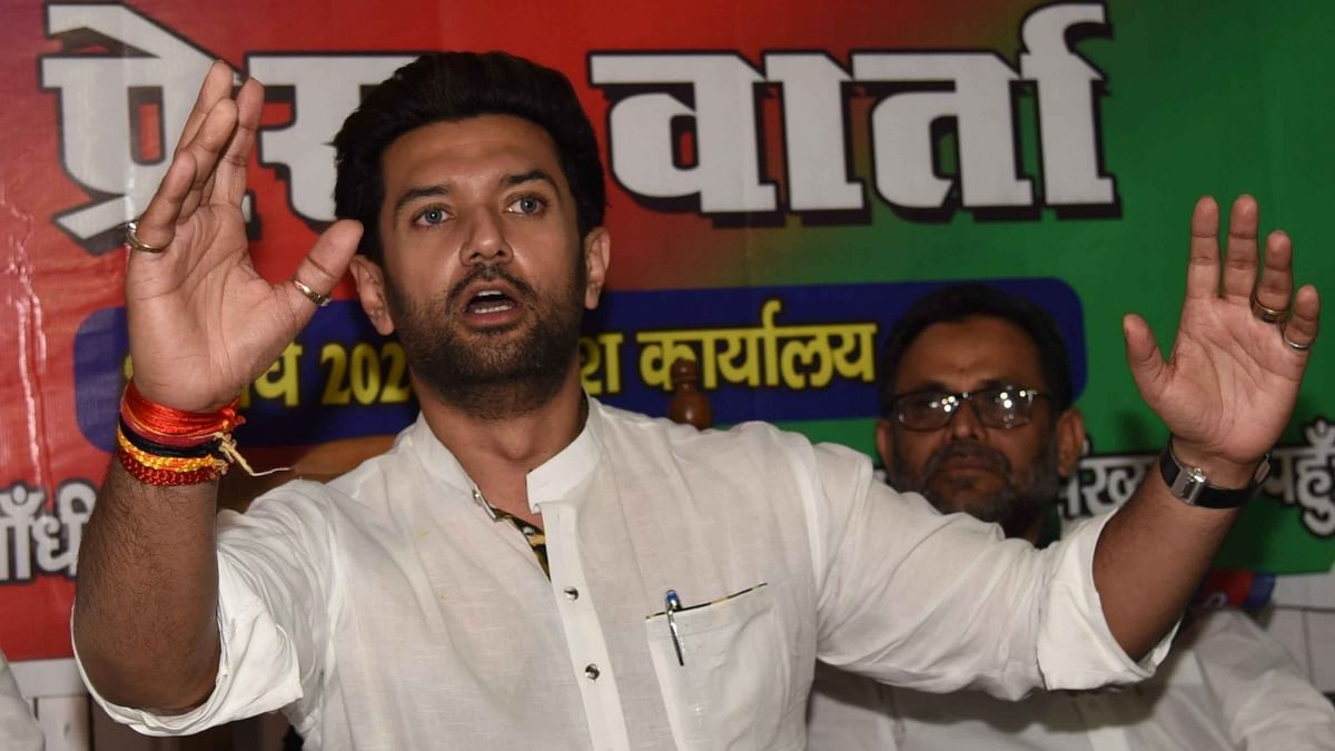 बिहार : 'नीतीश सरकार ने पीएम मोदी का किया अपमान', कोरोना की एंटीजन जांच को लेकर चिराग ने फिर उठाए सवाल