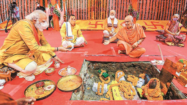 राम पुनयानी का लेखः आज़ादी के संघर्ष से राम मंदिर आंदोलन  की तुलना बेमानी, स्वीकार्यता बढ़ाने की साजिश