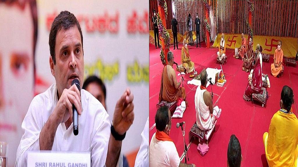 राम मंदिर के भूमि पूजन पर राहुल गांधी बोले, राम प्रेम-करुणा हैं, वे कभी घृणा-क्रूरता में नहीं हो सकते प्रकट