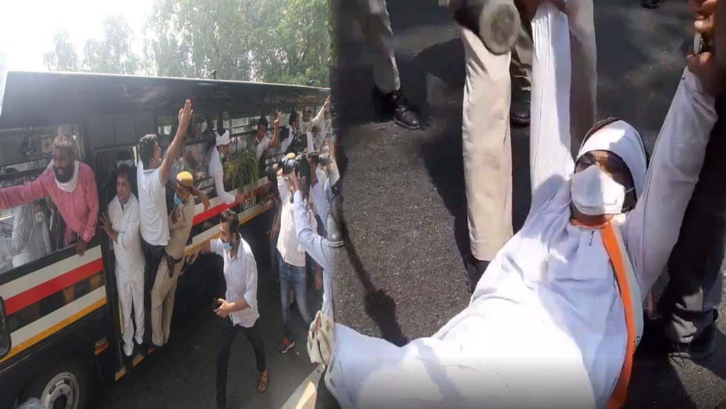 कृषि विधेयकों को लेकर कांग्रेस का केंद्र के खिलाफ प्रदर्शन, दिल्ली कांग्रेस अध्यक्ष अनिल चौधरी गिरफ्तार