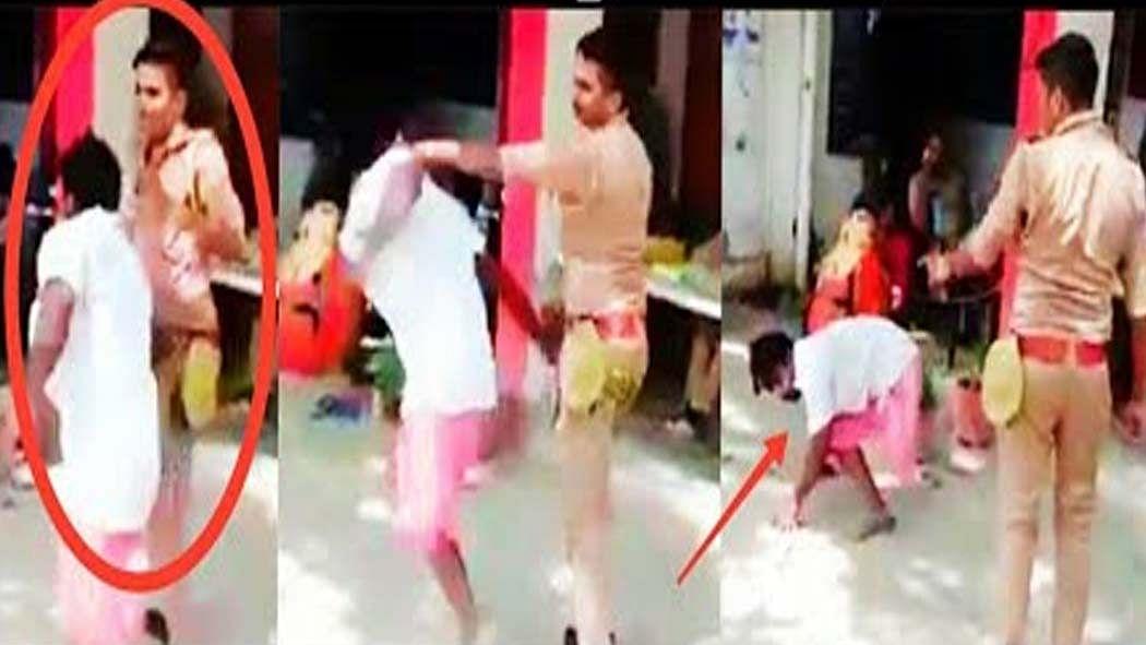 वीडियो: योगी की रक्षक पुलिस बनी भक्षक! वर्दी का धौंस दिखाकर दिव्यांग को बेरहमी से पीटा