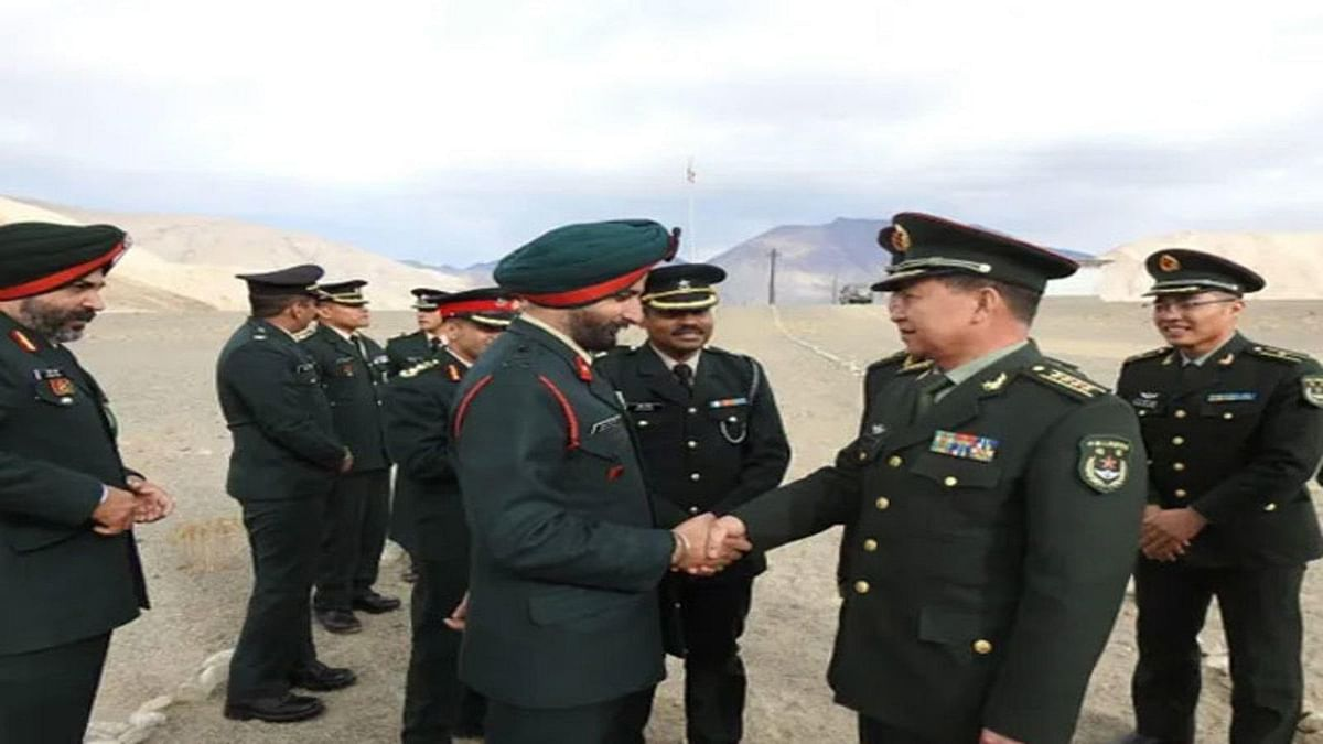 एलएसी पर भारत-चीन के बीच हो रही थी सैन्य बातचीत, उसी वक्त पेंगोंग झील के उत्तर में चीन ने शुरु कर दिया नया निर्माण