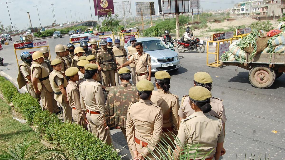 किसानों के प्रदर्शन को देखते हुए दिल्ली पुलिस ने बढ़ाई सुरक्षा, यूपी और हरियाणा बॉर्डर पर लगे बैरिकेड्स