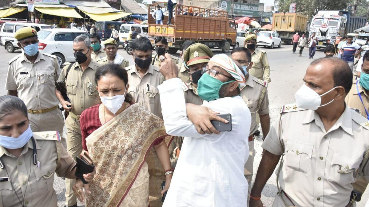 मृतक व्यापारी के घर महोबा जा रहे यूपी कांग्रेस अध्यक्ष अजय लल्लू गिरफ्तार, बोले- पुलिसिया तंत्र के दम पर चल रही सरकार