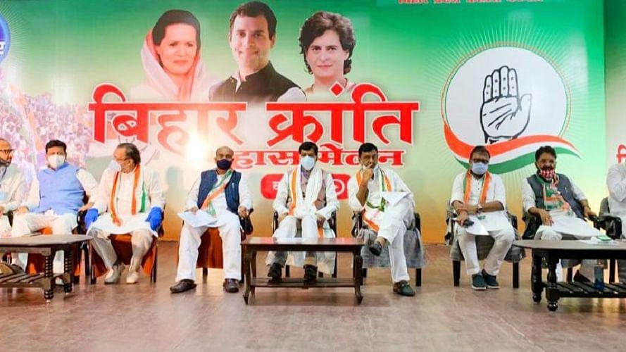 बिहारः गांधी की कर्मभूमि से कांग्रेस ने फूंका चुनावी बिगुल, 'बिहार क्रांति  महासम्मेलन से जुड़े 10 लाख लोग