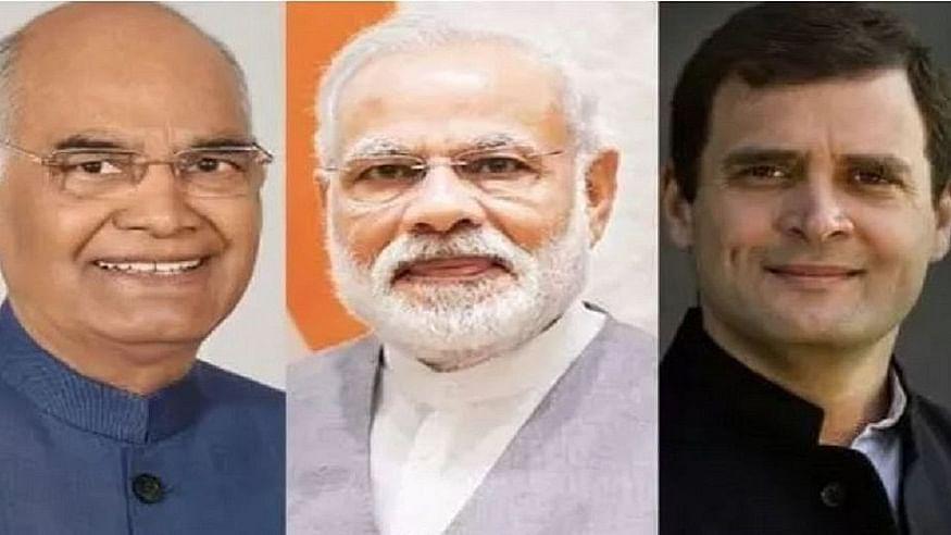 देश भर में मनाया जा रहा विजयादशमी का पर्व, पीएम, राष्ट्रपति और राहुल गांधी ने दीं देश वासियों को शुभकामनाएं