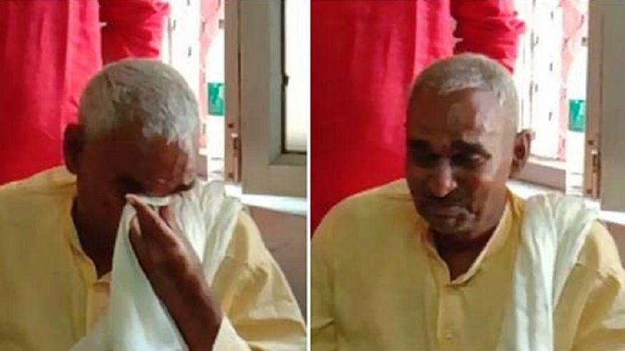 बलिया हत्याकांड के आरोपी के घर पहुंचे BJP विधायक के छलके आंसू, आरोपी के साथ खड़ा रहने का किया खुला ऐलान