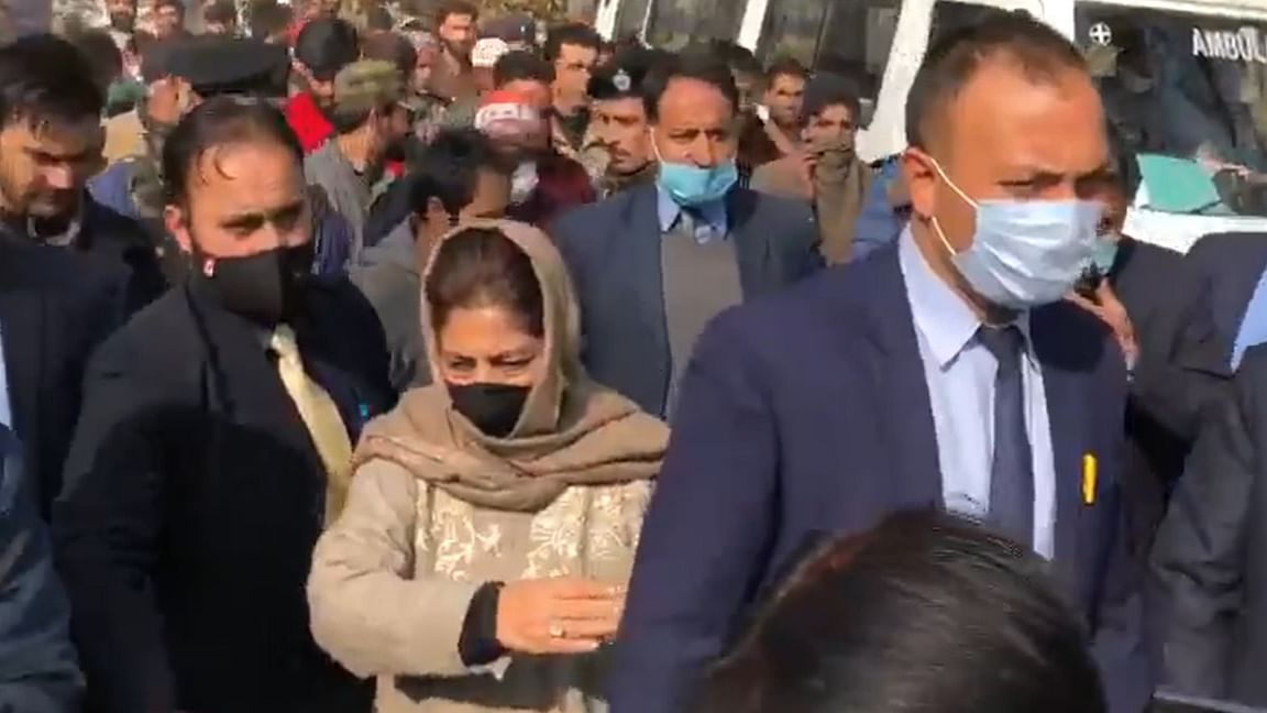 जम्मू-कश्मीर को बीजेपी सरकार ने बना दिया है खुली जेल, किया जा रहा अधिकारों का हनन: महबूबा मुफ्ती