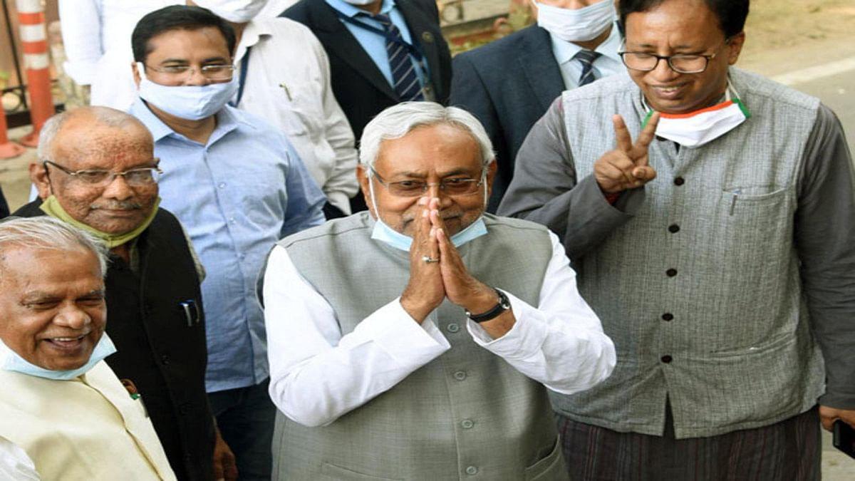 बिहार में एनडीए सरकार की ताजपोशी आज, नीतीश कुमार बनेंगे सातवीं बार सीएम, 8 मंत्री भी ले सकते हैं शपथ