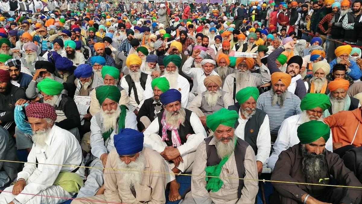 किसान आंदोलन के समर्थन में आए बिहार के किसान, कृषि कानूनों के खिलाफ मंगलवार को करेंगे 'राजभवन मार्च'