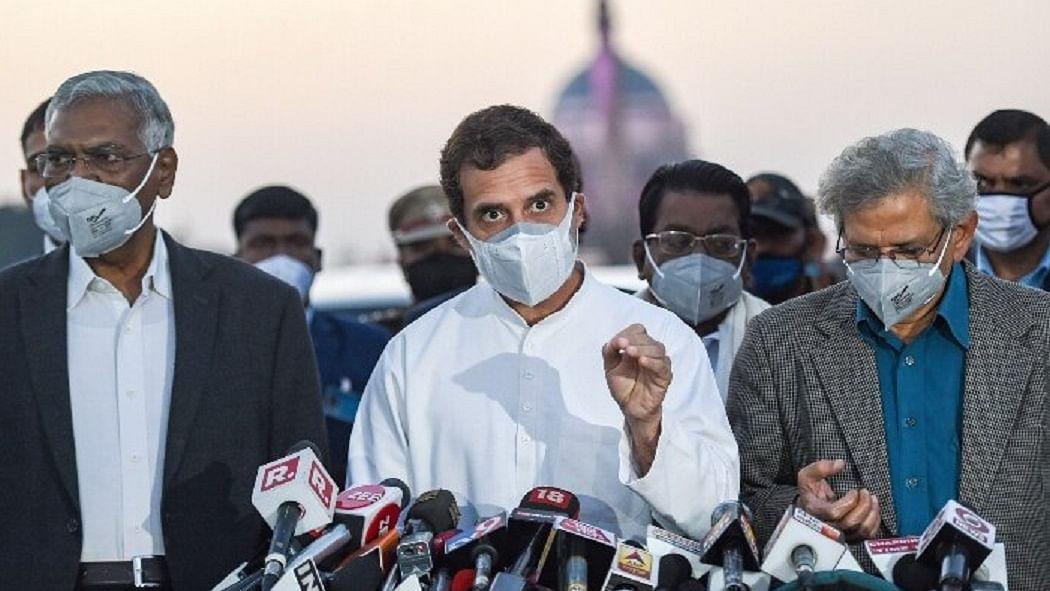 वीडियो: राष्ट्रपति से मुलाकात के बाद बोले राहुल गांधी- गलतफहमी में ना रहे सरकार, रद्द करना होगा कृषि कानून