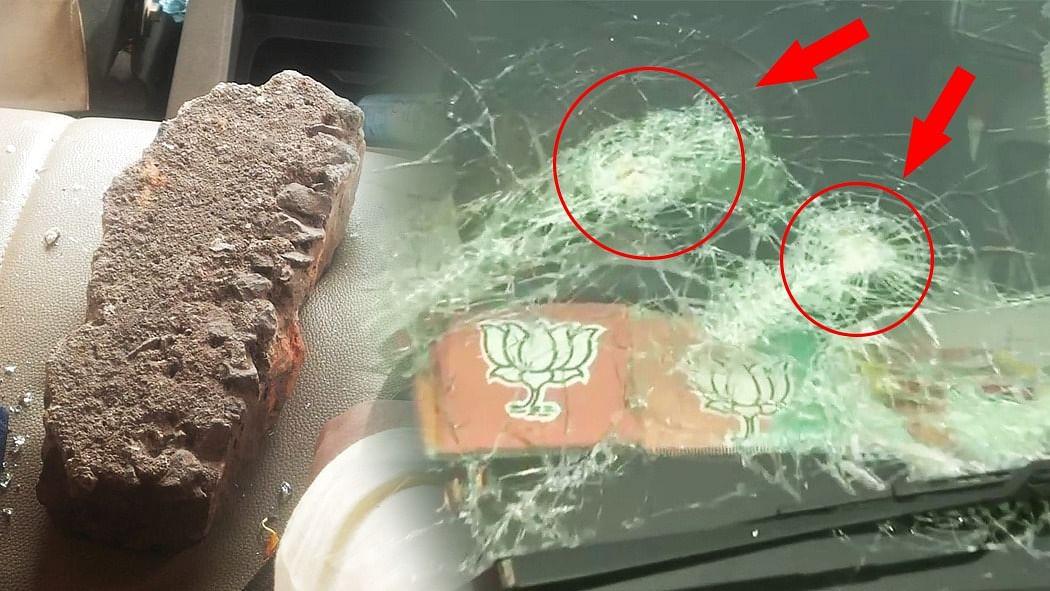 वीडियो: बंगाल में BJP अध्यक्ष जेपी नड्डा के काफिले पर हमला! प्रदर्शनकारियों ने बरसाए पत्थर