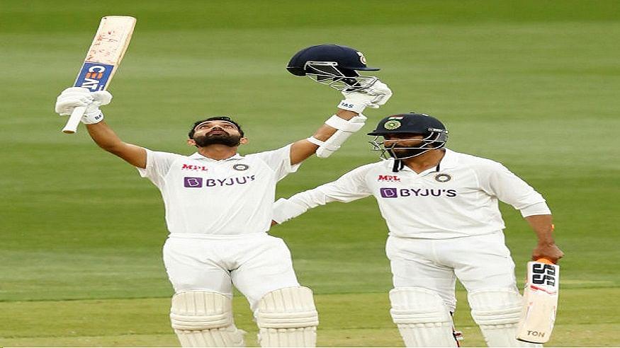 India vs Australia: दूसरे दिन अजिंक्य रहाणे ने ठोका शानदार शतक, भारत ने ऑस्ट्रेलिया पर 82 रनों की बनाई बढ़त
