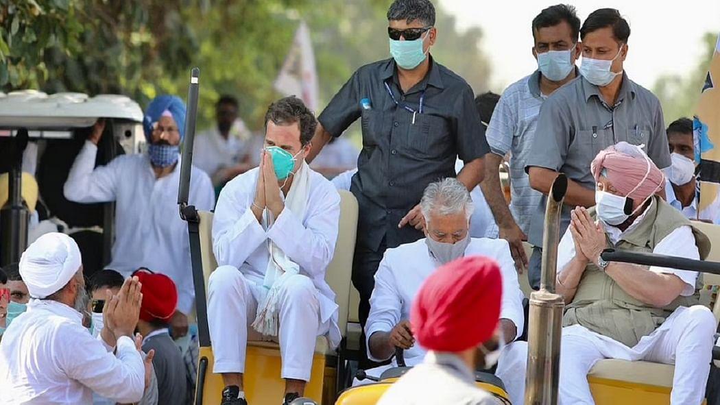 भारत बंद का समर्थन करते हुए राहुल बोले- असहनीय है अन्नदाता से अत्याचार-अन्याय, 'अदानी-अंबानी कृषि कानून' वापस लो!