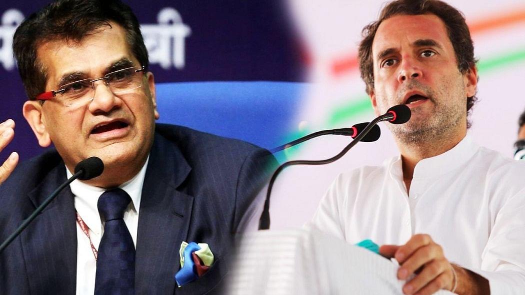 नवजीवन बुलेटिन: नीति आयोग के CEO के 'बहुत ज्यादा लोकतंत्र' वाले बयान पर राहुल का कटाक्ष और SC ने सुनाया ये अहम फैसला