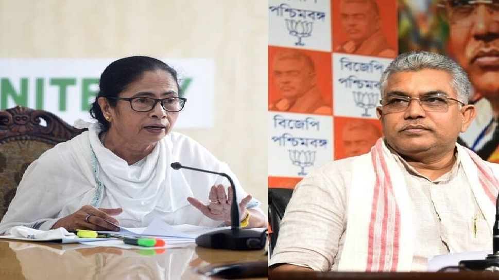 भाषा की मर्यादा भूले बंगाल बीजेपी अध्यक्ष दिलीप घोष, सीएम ममता के लिए सरेआम 'शर्मनाक' शब्द का किया इस्तेमाल