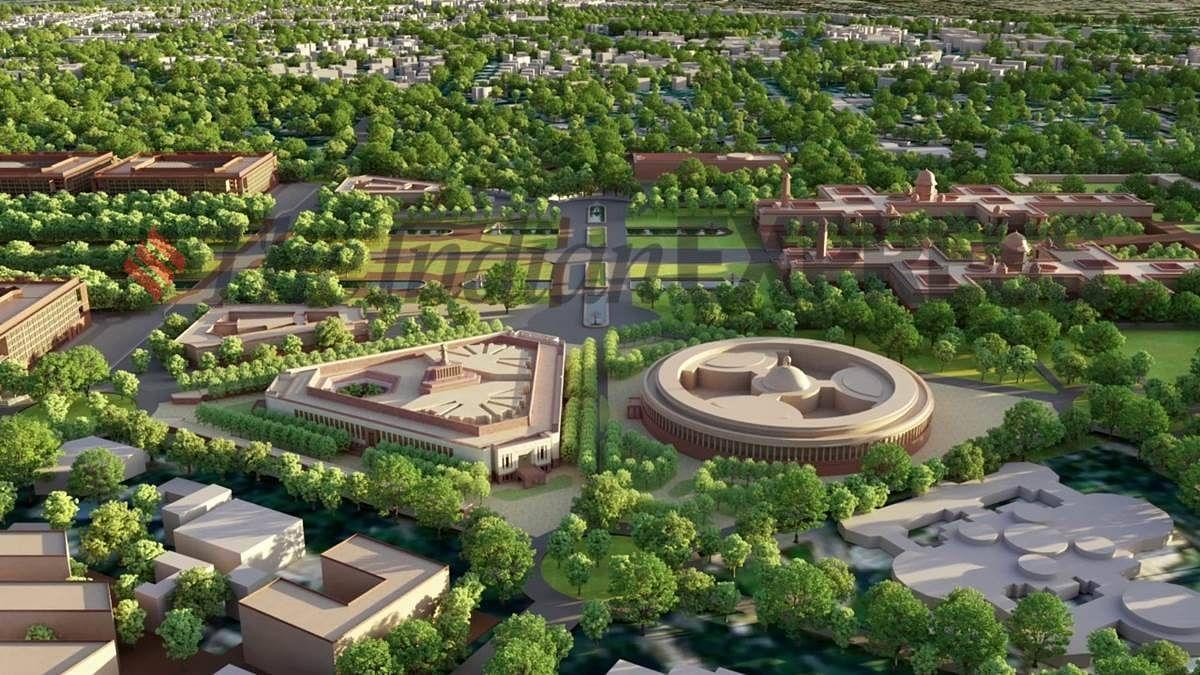 कैसा होगा नया संसद भवन: सेंट्रल हॉल नहीं होगा, लोकसभा मोर पक्षी और राज्यसभा कमल के फूल की थीम पर होगी