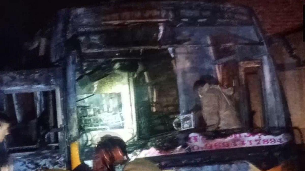 राजस्थान के जालोर में भीषण हादसा, करंट की चपेट में आई यात्रियों से भरी बस, 6 लोगों की मौत, कई घायल