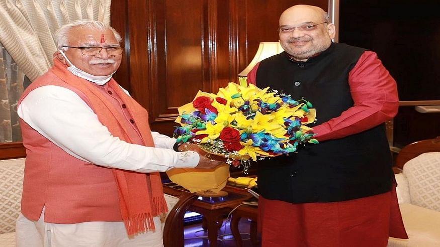 किसान आंदोलन से डरी BJP? अमित शाह की हरियाणा सरकार को सलाह- कृषि कानूनों के समर्थन में कार्यक्रम करने से बचें