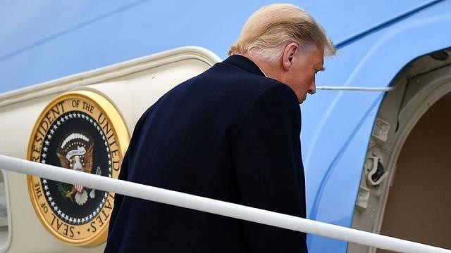 अमेरिका में आज से ट्रंप युग का अंत, आखिरी बार राष्ट्रपति के तौर पर व्हाइट हाऊस से निकले