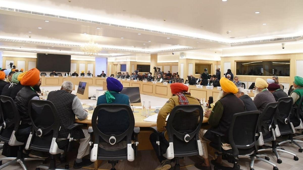 कृषि कानूनों पर 9वें दौर की वार्ता भी रही बेनतीजा, फिर मिली अगली तारीख,  19 जनवरी को होगी बैठक