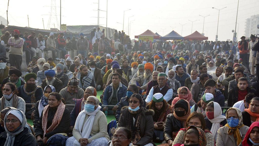 गाजीपुर बॉर्डर पहुंचकर दिल्ली कांग्रेस अध्यक्ष ने किसानों का किया समर्थन, कहा- कांग्रेस अन्याय के खिलाफ हमेशा खड़ी