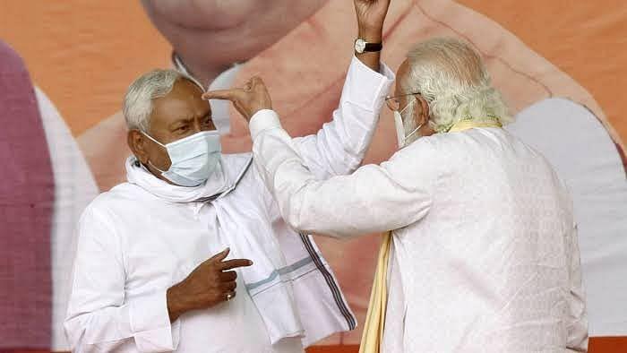 बिहार में BJP-JDU 'बाहरी नेताओं' के सहारे सरकार मजबूत करने में जुटी, दूसरे दलों पर गड़ी नजर
