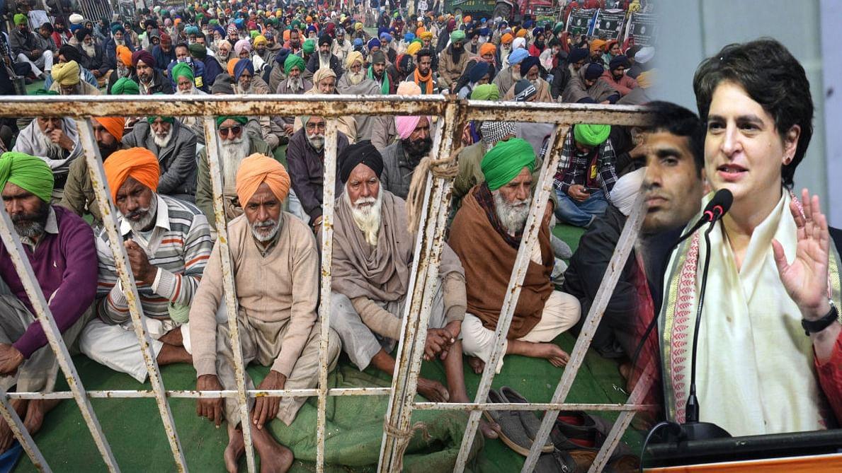 प्रियंका गांधी ने सरकार को लिया आड़े हाथों, कहा- क्या अरबपति मित्रों के ड्राइंगरूम में बनेंगे कृषि कानून!