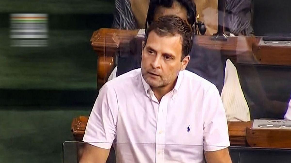 राहुल गांधी ने सुनाई सरकार को खरी-खरी, कहा- यह #HumDoHumareDoKiSarkar जिसे सिर्फ 4 लोग चलाते हैं, सुनें पूरा भाषण