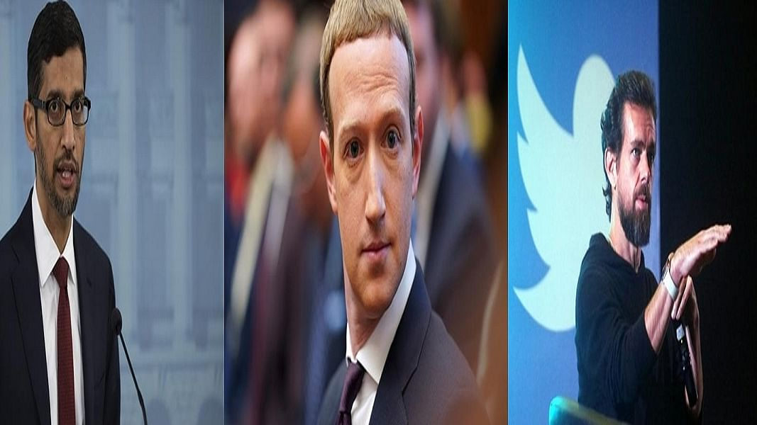 कैपिटल हिल हिंसा मामला: गलत सूचना प्रसार मामले में सुनवाई का सामना करेंगे मार्क जुकरबर्ग,  पिचाई और डोर्सी