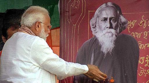 राम पुनियानी का लेखः टैगोर की विचारधारा की घोर विरोधी है बीजेपी, बंगाल चुनाव में वोट के लिए अपनाना चाहती है