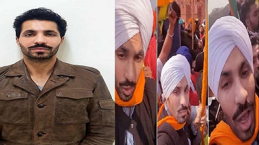 गणतंत्र दिवस पर लाल किले में हुए बवाल के मामले में आरोपी दीप सिद्धू को पुलिस ने किया गिरफ्तार